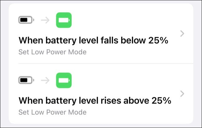 Set Low Power Mode