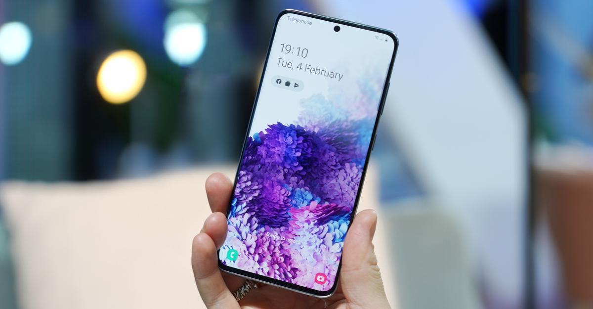 Samsung Galaxy phone.
