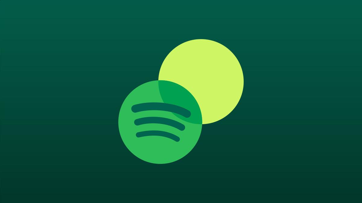 Spotify Blends logo.
