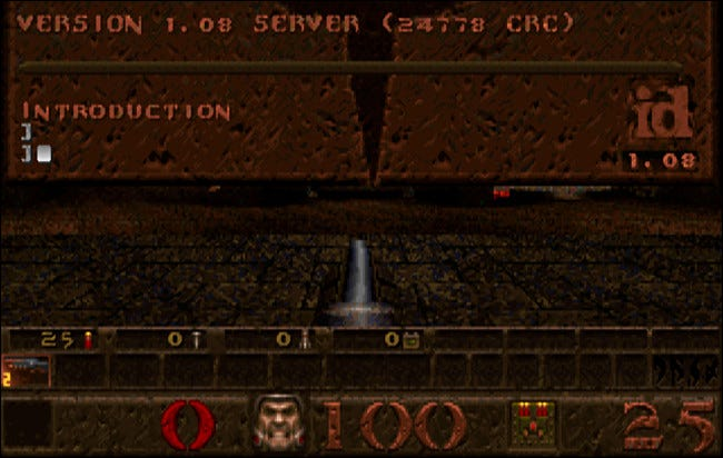 Quake's in-game console let you bend the rules of the world---if you knew what to type.