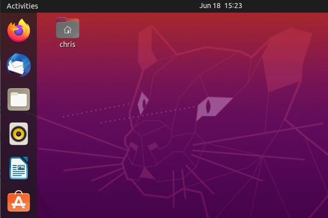 Ubuntu 20.04's desktop