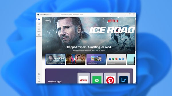 What Windows 11's New Store Looks Like