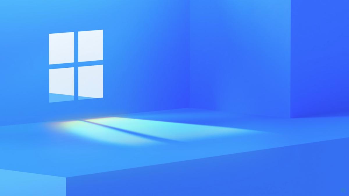 Microsoft's Windows 11 teaser image.