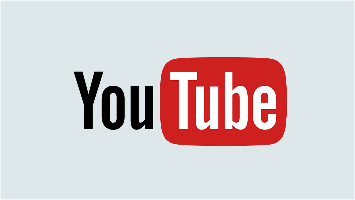 YouTube logo on a solid background color