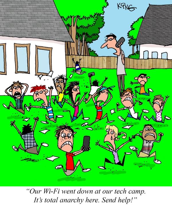 Geek Comic for July 21st — No Wi-Fi Problem