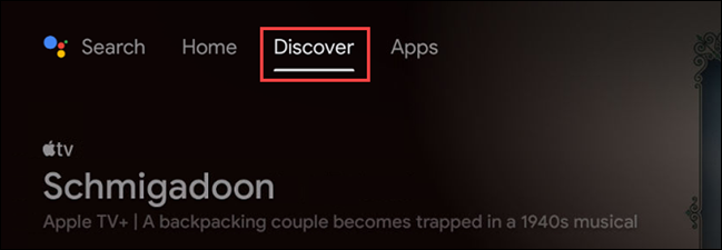 """To get started with the Watchlist, navigate to the """"Discover"""" tab on the home screen."""