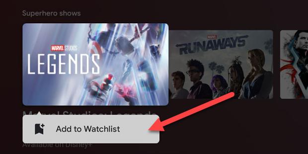 "Click ""Add to Watchlist."""