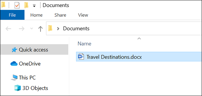 Find the downloaded Google Docs document in the file manager.