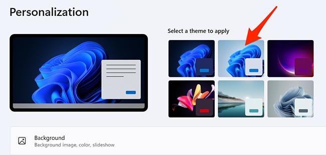 "Select the ""Windows (light)"" theme in Settings on Windows 11."