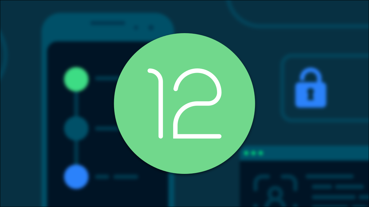 Android 12 logo.