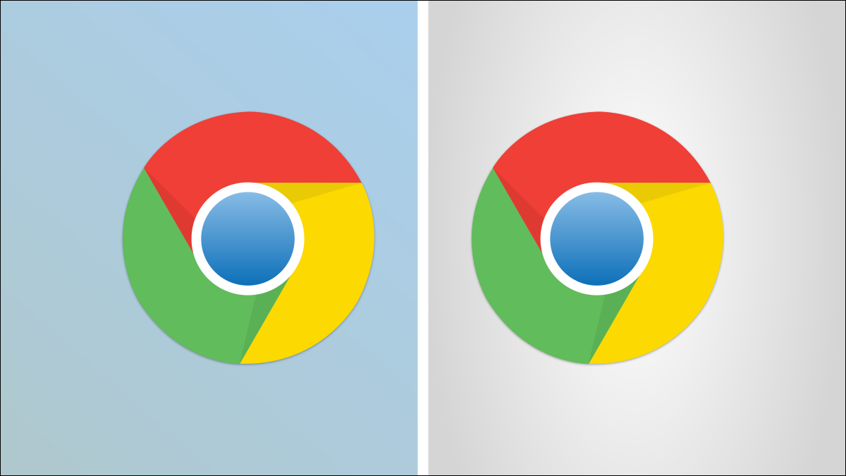 Chrome logos side by side.
