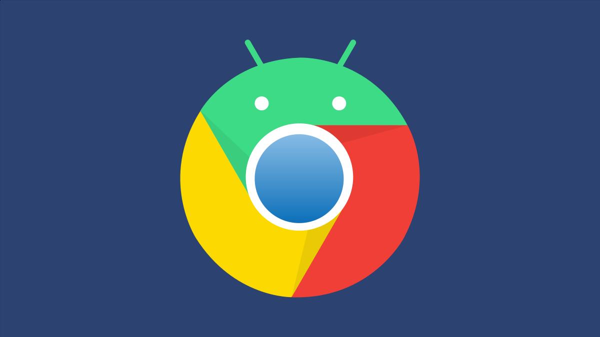Chrome for Android logo.