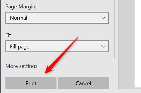 """Click """"Print."""""""