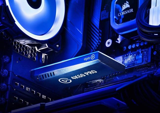 Elgato 4K60 Pro inside computer