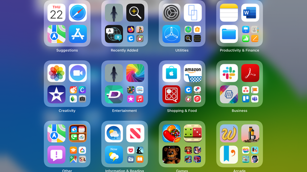 How to Use the App Library on iPad