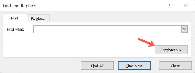Click Options