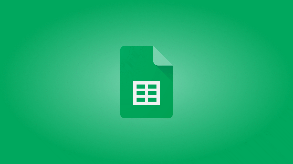 The Google Sheets logo.