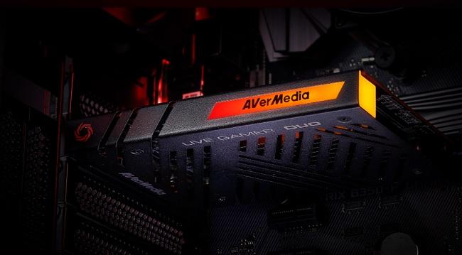 avermedia live gamer duo inside computer