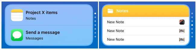 Rotate the Smart Stack widget