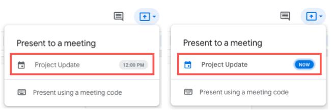 Click the Google Calendar event