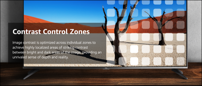"""TCL """"Contrast Control Zones"""" Marketing"""