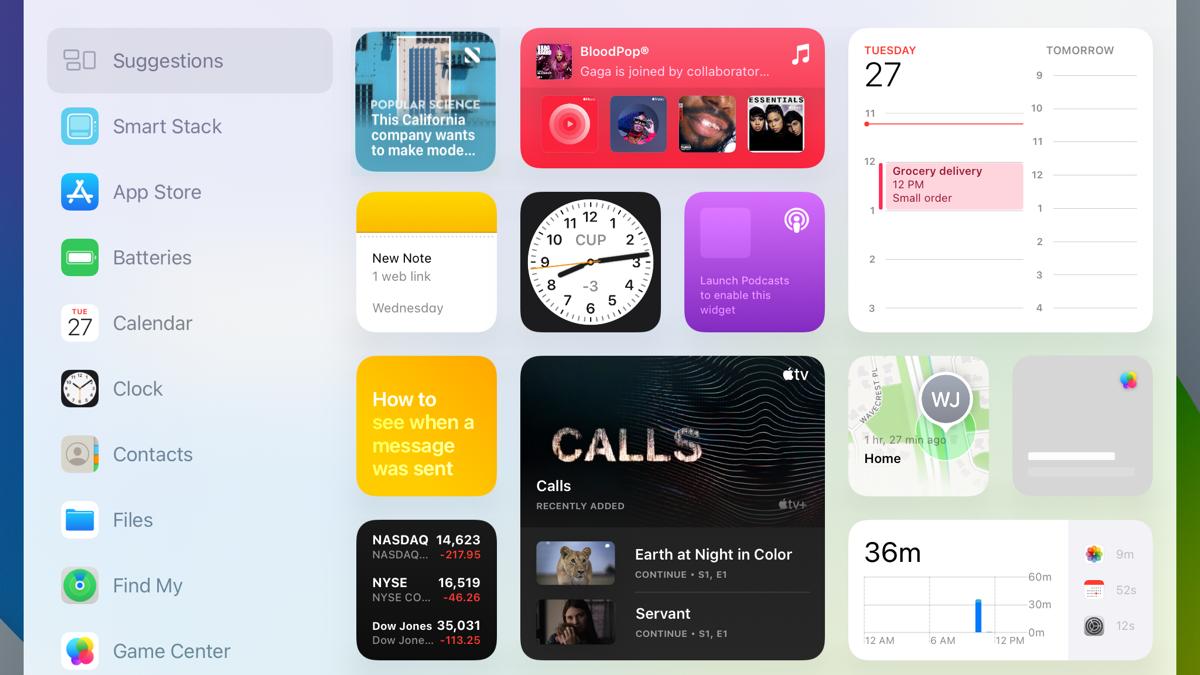 How to Use Home Screen Widgets on iPad