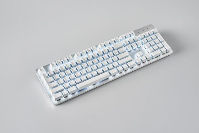 Razer Pro Type on grey table