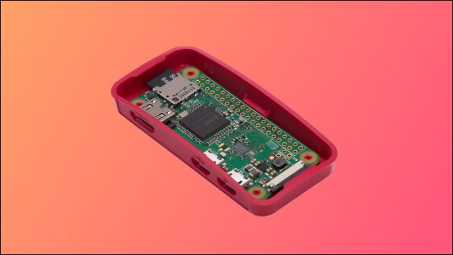 Raspberry Pi Zero W open
