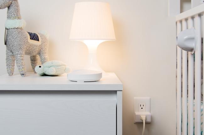 Kaza smart plug in child's room