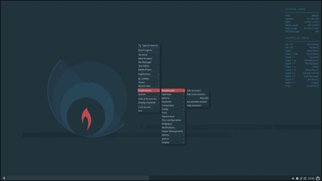 Bunsen Labs Linux desktop