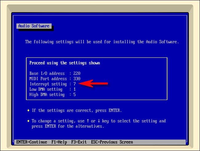 While setting up sound drivers for Windows 3.1 in iDOS, change the Interrupt from 5 to 7.