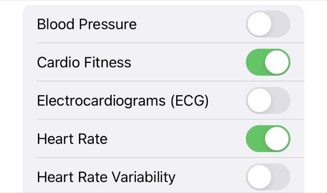 Share Health Topics in iOS Health App