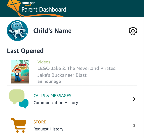 Parent Dashboard for Reading Sidekick