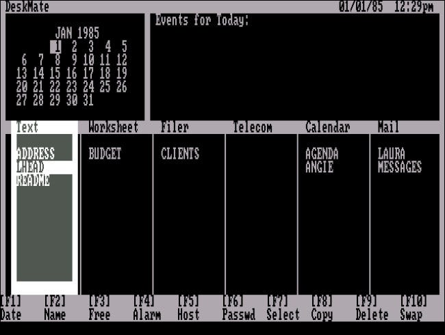 Tandy Deskmate I for PC