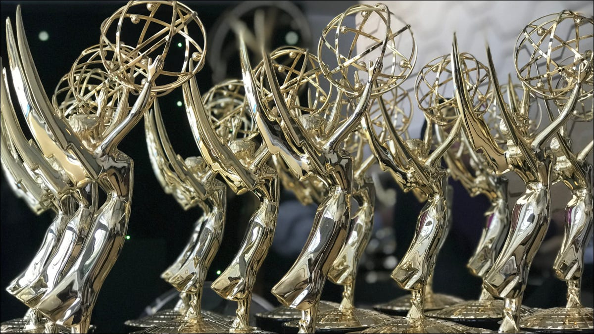 Emmy Awards on display