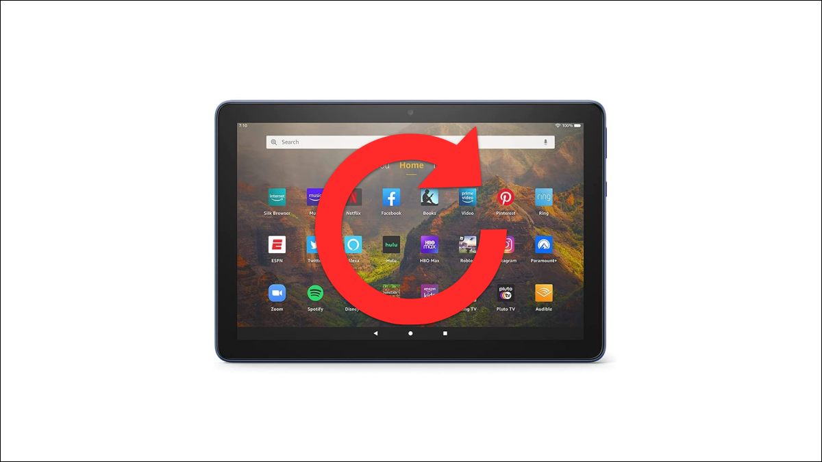 Amazon Fire Tablet reset