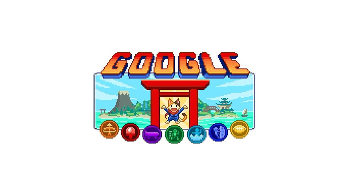 Đảo Champion của Google Doodle.