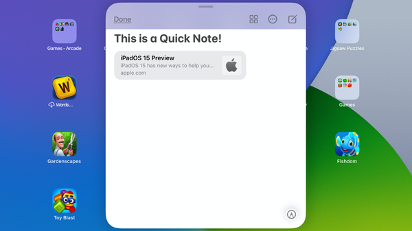 How to Use Quick Note on iPad
