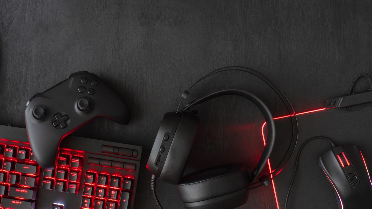 Gaming PC peripherals.