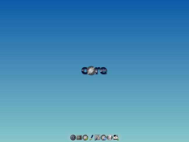 Tiny Core Linux desktop
