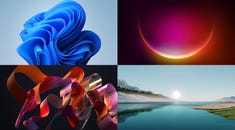 Here's What Windows 11's New Wallpapers Look Like