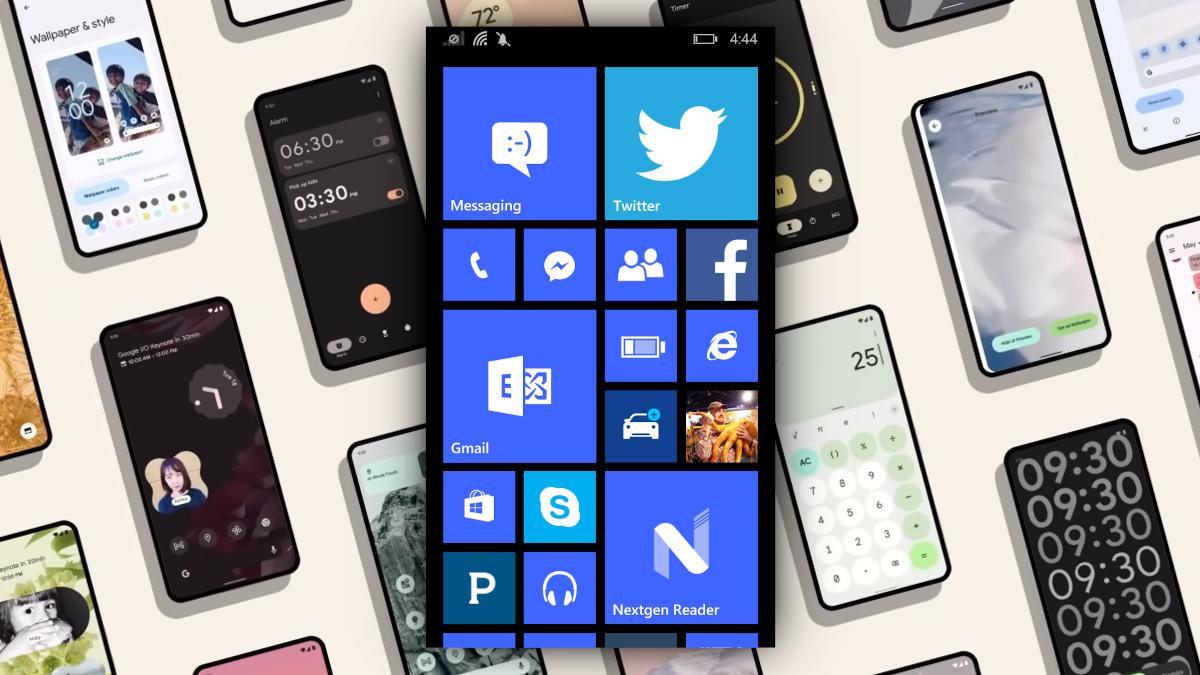 Windows Phone và Android 12.