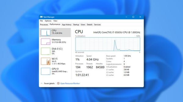 How to Launch Task Manager in Windows 11