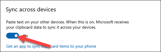 """Turn on """"Sync Across Devices."""""""