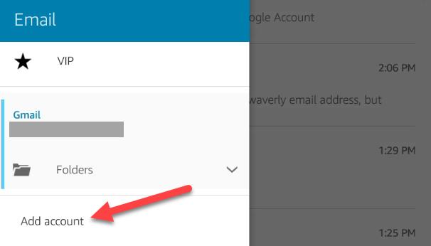 "Tap ""Add Account."""