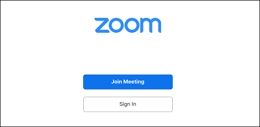 Comece a usar o Zoom.