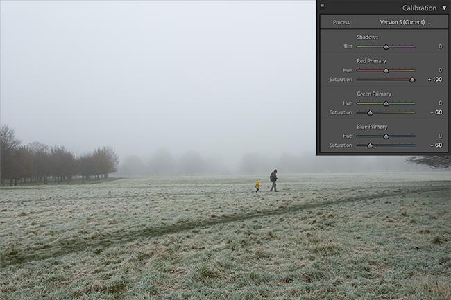 primary saturation slider demo