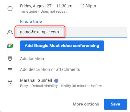 Aggiungi utenti alla riunione.