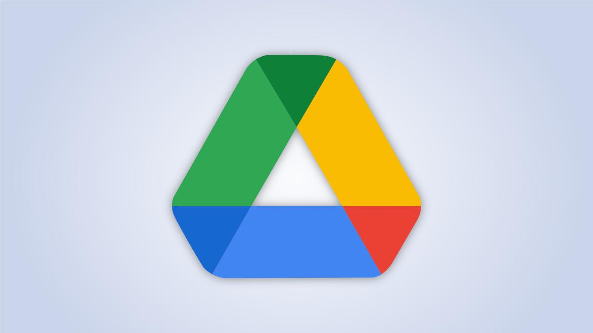 Google Drive logo.