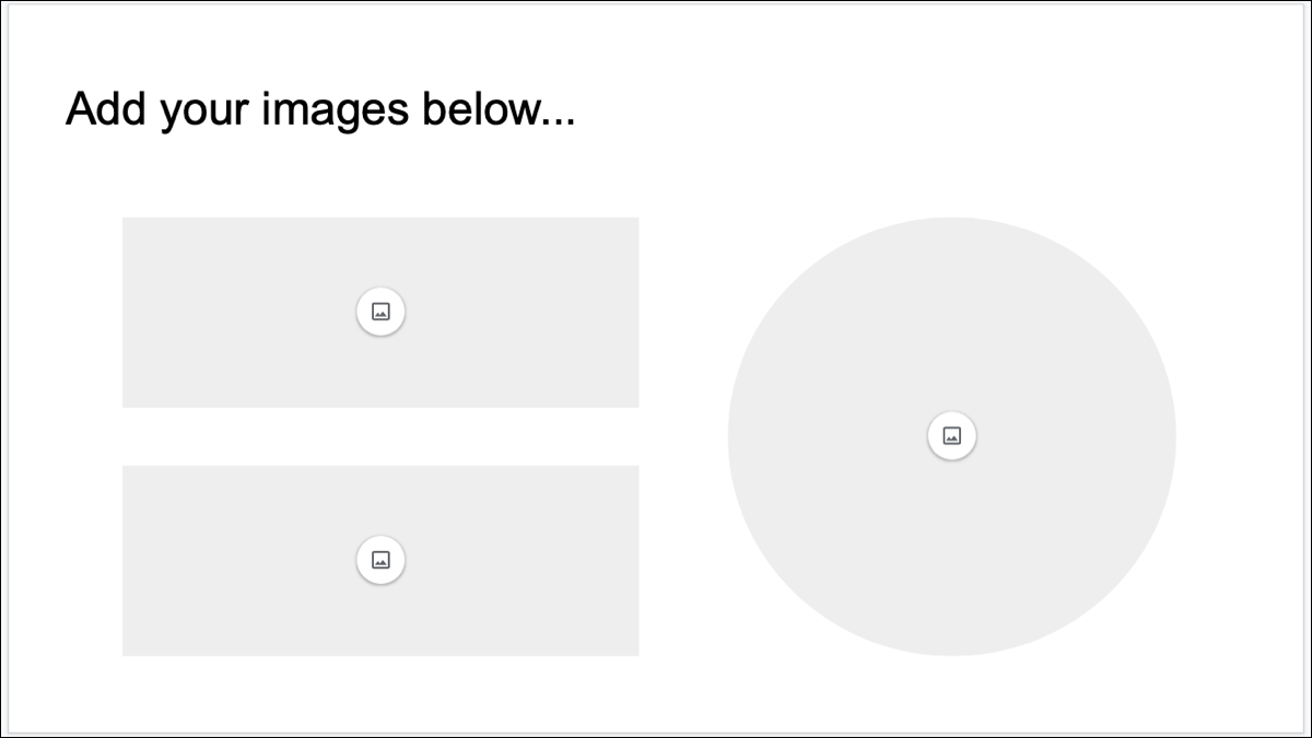 Google Slides Image Placeholders